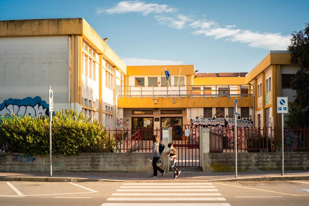 Mulinu Becciu, scuola media