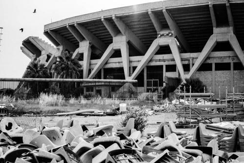 The old stadium