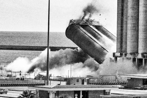 La caduta dei silos